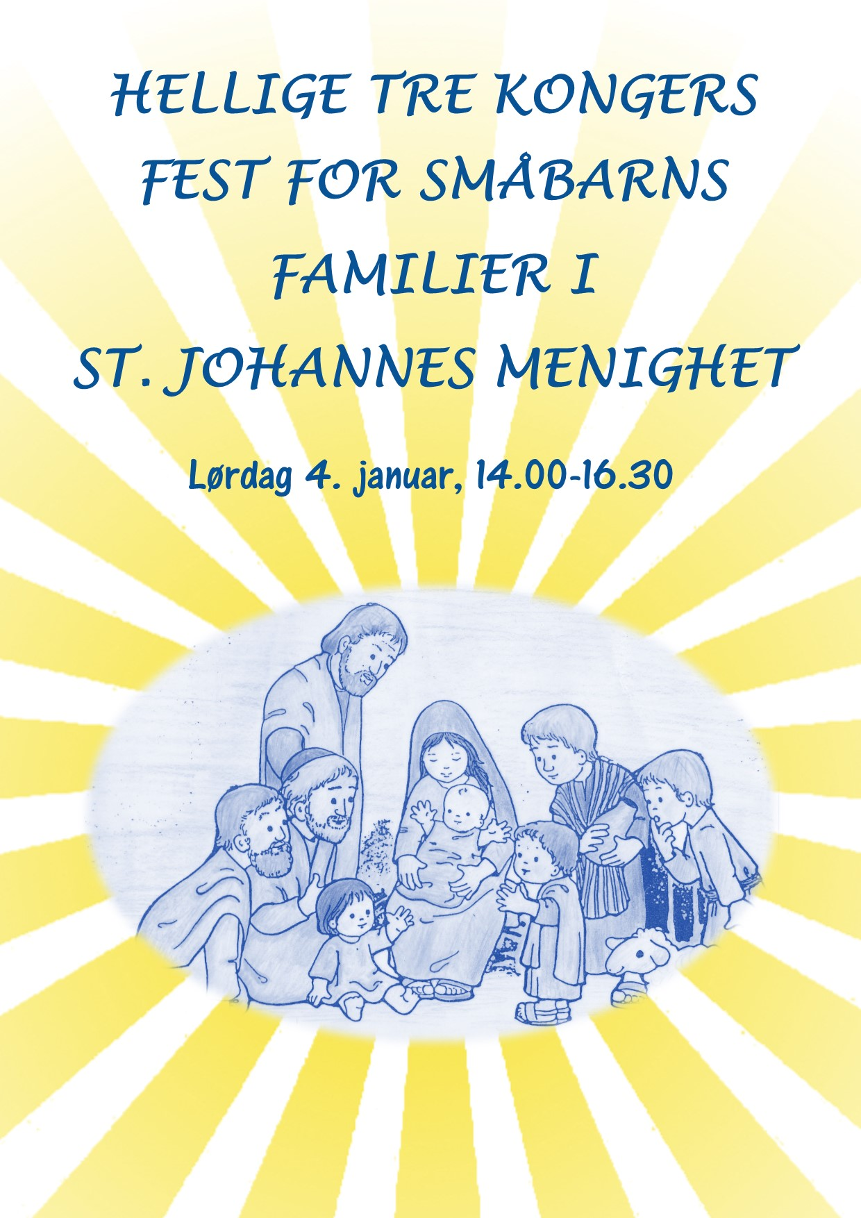 Hellige tre kongersfest 4. januar 2020