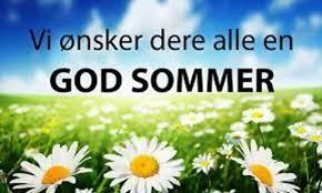 God sommer til alle katekesebarn og ungdommer
